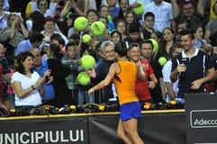 Tennis Simona Halep della donna Immagine Stock