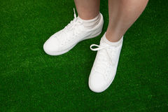 Tennis sneakers Royalty Free Stock Image