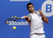 Tennis spagnolo Iñigo Cervantes Fotografia Stock Libera da Diritti