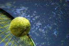 Tennis-Speicher Stockbild