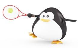 Tennis-Spieler lizenzfreie abbildung