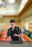 Tennis-Spieler Lizenzfreies Stockfoto