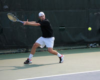 Tennis-Spieler Andy Roddick Stockfotografie