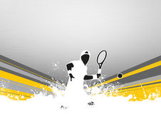Tennis sport background Stock Photo
