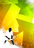Tennis sport background Royalty Free Stock Photos