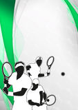 Tennis sport background Stock Photos
