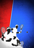 Tennis sport background Royalty Free Stock Photos