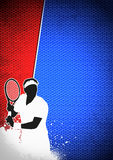 Tennis sport background Royalty Free Stock Images
