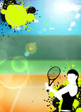 Tennis sport background Royalty Free Stock Image