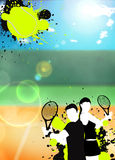 Tennis sport background Royalty Free Stock Photo