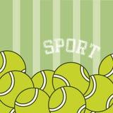 Tennis sport balls Stock Photos