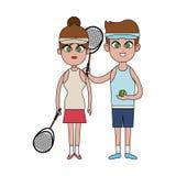 Tennis sport design Stock Photo