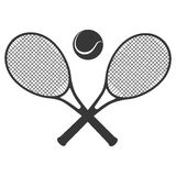 Tennis sport design Stock Images