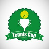 Tennis sport design Royalty Free Stock Images