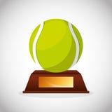 Tennis sport emblem icon Royalty Free Stock Photos