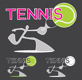 Tennis Sport Game Logo Stock Photography