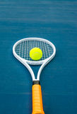 Tennis sport. Tennis is an Olympic sport and is played at all levels of society and at all ages Royalty Free Stock Image