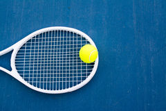 Tennis sport. Tennis is an Olympic sport and is played at all levels of society and at all ages Royalty Free Stock Photography