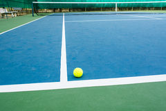 Tennis sport. Tennis is a racket sport that can be played single or double players Stock Image