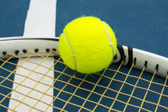 Tennis sport. Tennis is a racket sport that can be played single or double players Stock Photo