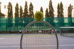 Tennis sport. Tennis is a racket sport and in Olympic sport and is played at all levels of society and at all ages Stock Photos