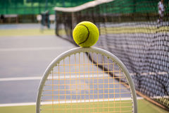 Tennis sport. Tennis is a racket sport and in Olympic sport and is played at all levels of society and at all ages Royalty Free Stock Photo