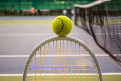 Tennis sport. Tennis is a racket sport and in Olympic sport and is played at all levels of society and at all ages Royalty Free Stock Image