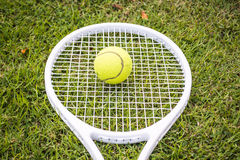 Tennis sport. Tennis is a racket sport and in Olympic sport and is played at all levels of society and at all ages Stock Photography