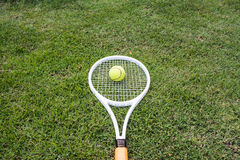 Tennis sport. Tennis is a racket sport and in Olympic sport and is played at all levels of society and at all ages Royalty Free Stock Images
