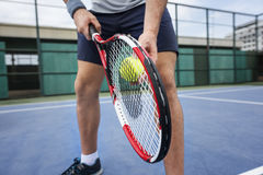 Tennis Sport Racket Racquet Athlete Match Concept Royalty Free Stock Images