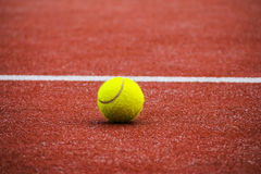 Tennis Sports Court Ball Royalty Free Stock Image