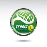 Tennis symbol Royalty Free Stock Photo