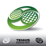 Tennis symbol Stock Images