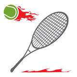Tennis symbol Royalty Free Stock Images