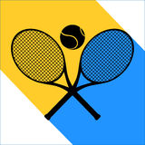 Tennis symbol sign Stock Photography