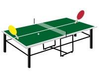 Tennis table rackets Royalty Free Stock Photos