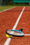 Tennis time. Stock Photography