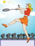 Tennis tournament Stock Photo
