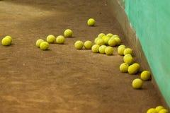Tennis training Royalty Free Stock Photography