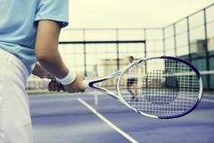 Tennis Training Coaching Exercise Athlete Active Concept. Tennis Training Coaching Exercise Athlete Active Royalty Free Stock Photo