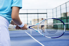 Tennis Training Coaching Exercise Athlete Active Concept Stock Photo
