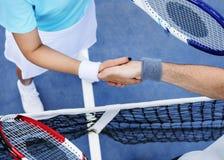 Tennis Training Coaching Exercise Athlete Active Concept royalty free stock image