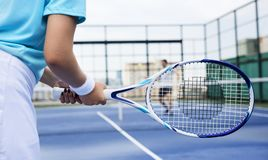Tennis Training Coaching Exercise Athlete Active Concept Stock Image