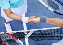 Tennis Training Coaching Exercise Athlete Active Concept Royalty Free Stock Photography