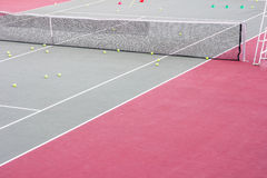 Tennis training Stock Photography