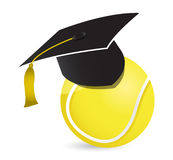 Tennis training school Royalty Free Stock Images
