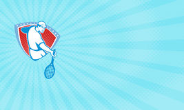 Tennis Tuition Business card Royalty Free Stock Photography