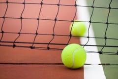 Tennis und Tennisball Stockbilder