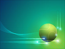 Tennis vector graphic background Royalty Free Stock Photo