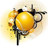 Tennis vector illustration Royalty Free Stock Photography